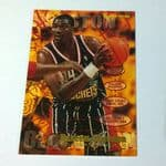 1995-96 Fleer Houston Rockets Basketball Card #224 Hakeem Olajuwon @sold@