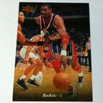 1995-96 Upper Deck Houston Rockets Basketball Card #181 Hakeem Olajuwon @sold@