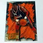 1996 Fleer Skybox Hakeem Olajuwon 129 basketball card @sold@