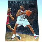 1999-00 Skybox Metal #36 Allen Iverson Philadelphia 76ers Basketball Card @sold@