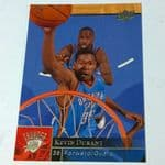 2009-10 Upper Deck Oklahoma City Thunder Basketball Card #135 Kevin Durant @sold@