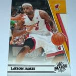 2010-11 Panini Season Update #82 LeBron James @sold@
