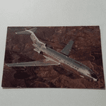 Boeing 727 Astrojet American Airlines 1966 postcard