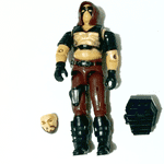 G.I.Joe  GI Joe 1984 Zartan v1 loose figure #3 @sold@