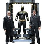 Hot Toys 1:6 Scale Batman Armory with Bruce Wayne and Alfred Pennyworth