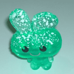 Moshi Monsters #057 Honey the funny bunny  frostbite  green