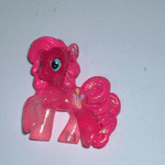 rare Pinky pie pink glitter - My Little Pony Wave 13 Friendship is Magic
