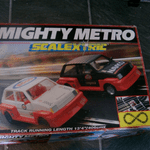 scalextric mighty metro set for spares includes cars @sold@
