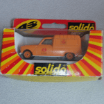 Solido 1:43 Renault 4 Fourgonnette  CODE 3 REWORKED Postal Van