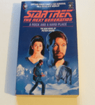 Star Trek The next generation A Rock and a hard place paperback book Peter David