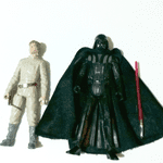 Star Wars mission series Bespin - Luke Skywalker Darth Vader loose 2013 rare @sold@