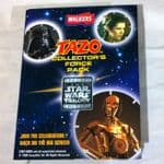 Star Wars Trilogy Walkers Tazo collector Album Complete Unused scratch prizes