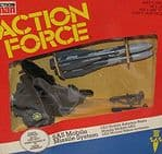 Vintage Action Man Action Force GI Joe S.A.S Mobile Missile System Palitoy Limited 1983 @sold@