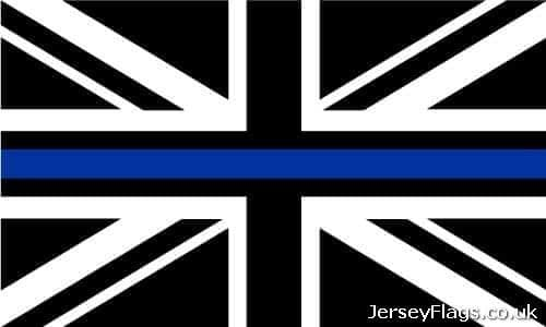 #Thin Blue Line  (Union Jack)
