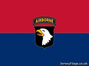 101st Airborne Division  (Red/Blue)