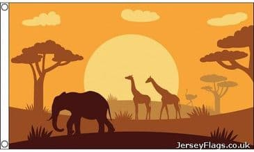 African Animals Silhouette
