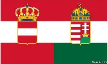 Austria - Hungary Civil Ensign  (1869 - 1919)