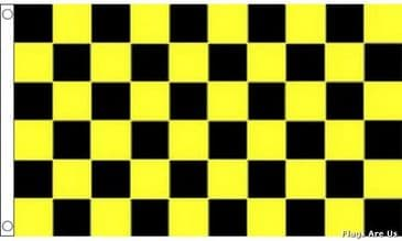 Black & Yellow Check