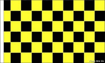 Black & Yellow Check  (Sleeved)