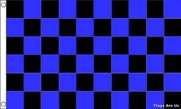 Blue & Black Check