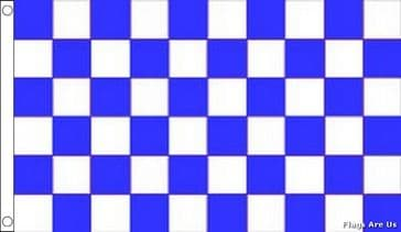 Blue & White Check