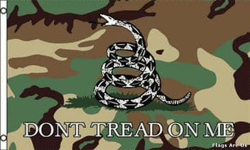 Camo Gadsden Don't Tread On Me