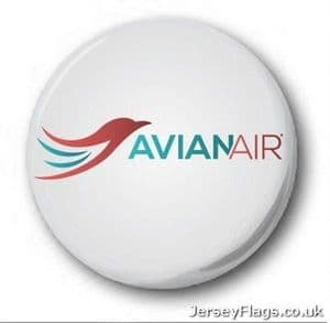 Fictional Airlines  Pin Badges