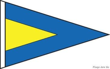 First (1st) Substitute Code Signal Pennant