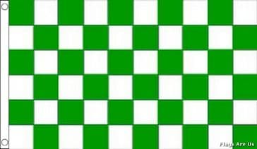 Green & White Check