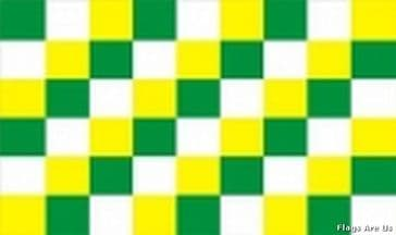 Green, White & Yellow Check