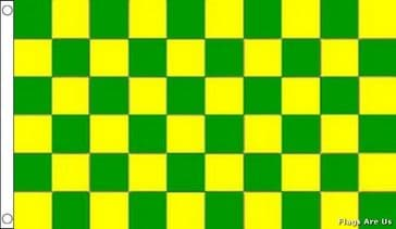 Green & Yellow Check