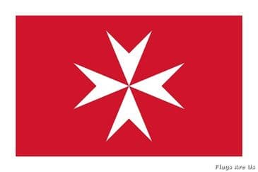 Malta Civil Ensign  (Maltese Cross)