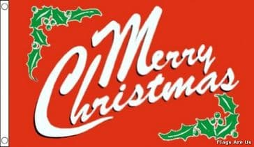 Merry Christmas  (Red)