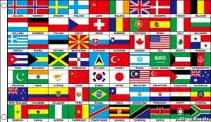 Multi Nation  & State Flags