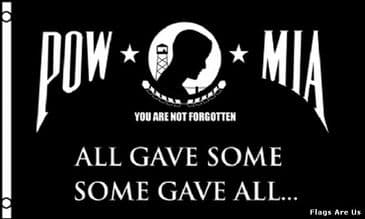 POW/MIA  (ALL GAVE SOME, SOME GAVE ALL)