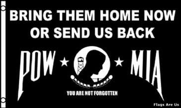 POW/MIA  (Bring Them Home Now)
