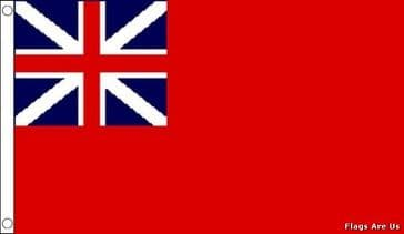 Red Ensign  (Colonial) (1707 - 1801)