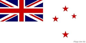 Royal New Zealand Navy Ensign  (RNZN)