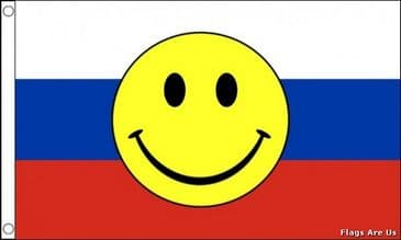 Russia Smiley Face