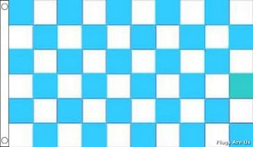 Sky Blue & White Check
