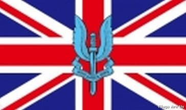 Special Air Service  (SAS)  (Union Jack)