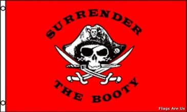 Surrender The Booty  (Red)