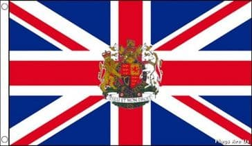 Union Jack  (With Royal Crest)