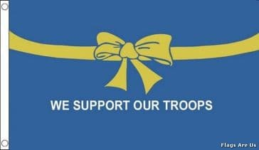 We Support Our Troops  (Blue)