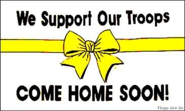 We Support Our Troops  (Variant)