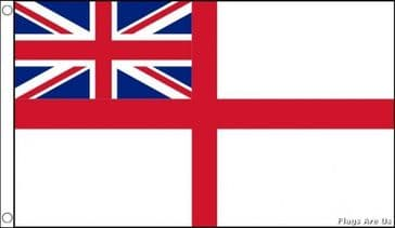 White Ensign  (Royal Navy) (RN) (UK)