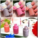 Creamy Matt Nail Polish - Set of Three