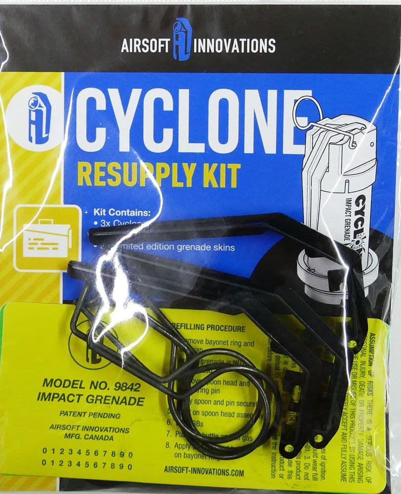 Airsoft Cyclone Impact Spare Pins Spoons And Limited Edition Skins AI-CY-IG-RS