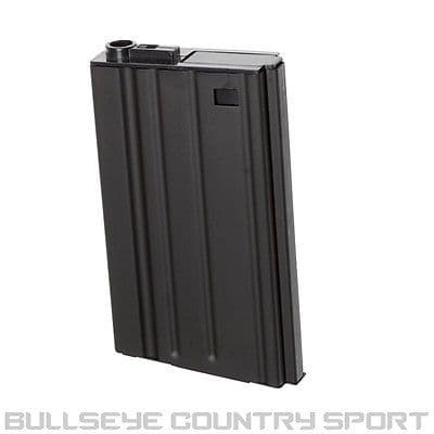 AIRSOFT D-BOYS SR25 HI-CAP MAG DBOY SR25 BLACK MAGAZINE 6MM METAL