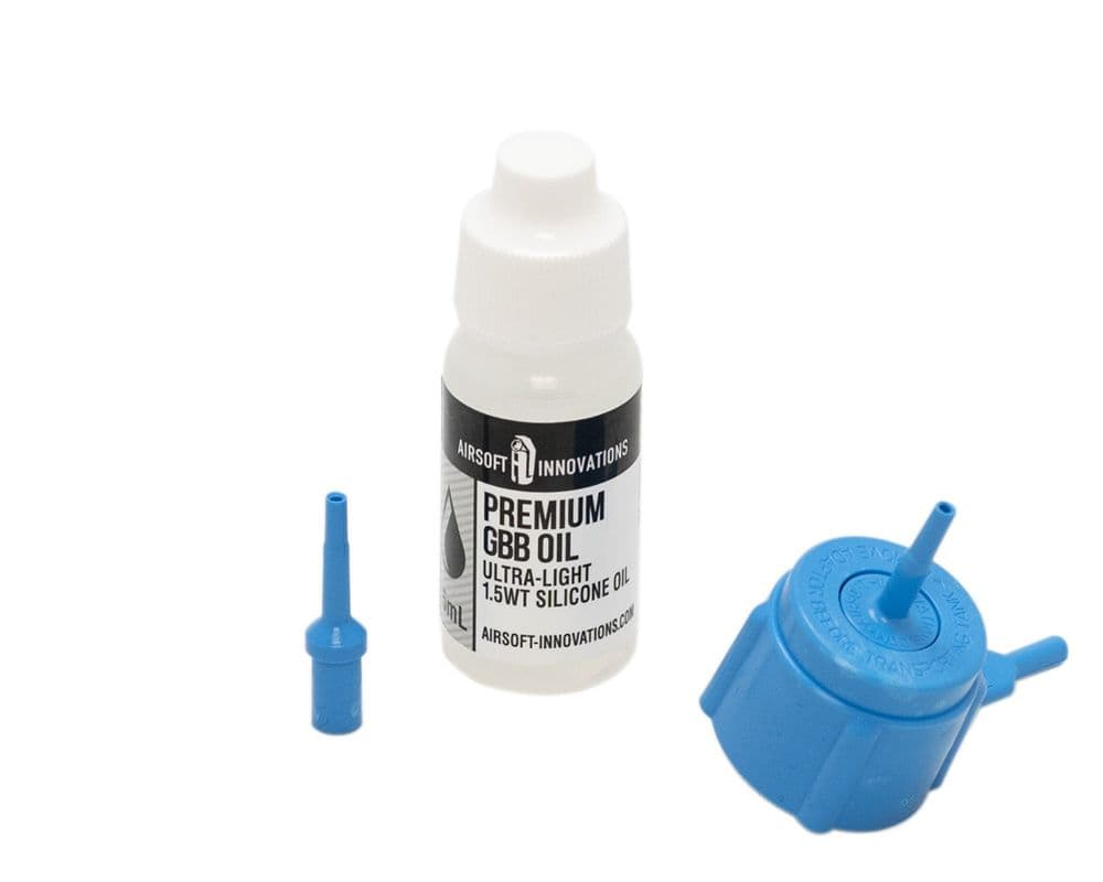 Airsoft Innovations Propane Adapter Kit Blue Green Gas Silicone Oil AI-GBB-0